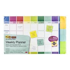 3m Post It Weekly Planner Flipchart Planner Stationery