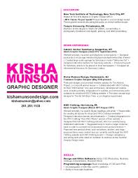 Resume Examples For Graphic Designers Examples Of Resumes