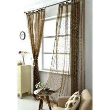 curtains india elegant chic flower tall embroidered sheer