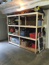 diy garage storage shelves great easy storage shelves and garage storage shelves buildsomething