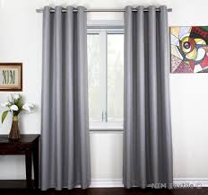 Silver Bedroom Curtains Contemporary Style Bedroom With Silver Energy Efficient Darkening