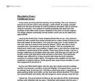essay at the beach descriptive essay at the beach