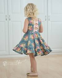 Dress Sewing Patterns Gorgeous Aria's Bow Back Top Dress PDF Downloadable Sewing Patterns For