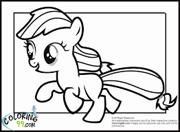 Small Picture Applejack Coloring Pages akmame