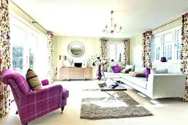 purple and brown living room grey
