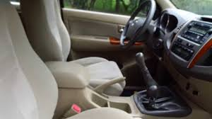 TOYOTA FORTUNER 2010 MANUAL 3.0 FULL EXTRAS - YouTube