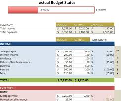 sample household budget free budget templates in excel for any use