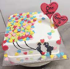 Cute 1st Anniversary Cake Eatoos The Cake Studio 1st Anniversary