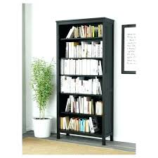 ikea black brown bookcase black brown bookcase wood x cm bookcases glass doors solid has a