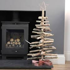 Grey Christmas Tree Copper And Driftwood Tree By Quirkybee Notonthehighstreetcom