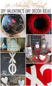 Valentine Door Decoration Ideas 28 Adorably Elegant Diy Valentines Day Decor Ideas The Happy Housie