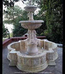 marble fountains old world italian