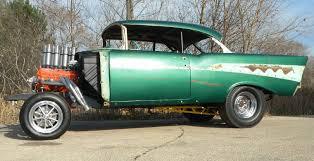 1957 Chevy Belair Hardtop NicKey Gasser - The Supercar Registry