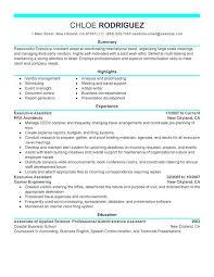 Executive Assistant Resume Templates Delectable Administrative Assistant Resume Skills Noxdefense