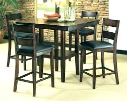 small bistro table set pub kitchen bar dining sets and r for round wood