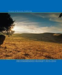 2013 2014 Recommended Budget County Of Sonoma