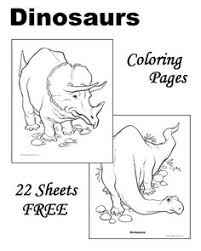 Small Picture Dinosaur Coloring Pages 32 free sheets to print and color