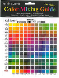 Colour Mixing Chart For Artists