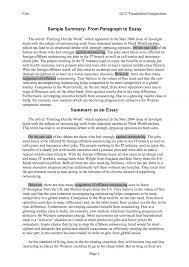 article essay format toreto co how to write a summary of an for   summary essays toreto co how to write a paper of an article sample essay papers 2
