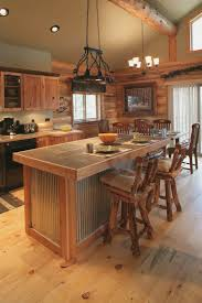 beautiful small log cabin kitchens kitchen ideas designs tiny best