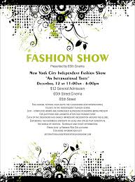 Make Your Own Flyers Online Free Fashion Show Flyer