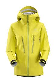 arcteryx chartreuse alpha lt jacket