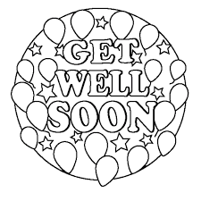 In this gallery you will find complex coloring pages, dedicated mainly to adults, grown ups, or to very talented children. 24 Comforting Printable Get Well Cards Kittybabylove Com