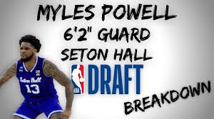 Myles Powell Draft Scouting Video ...