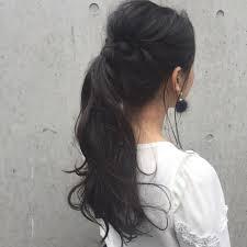 黒髪女子必見ツヤツヤの黒髪が映えるおすすめヘアアレンジに挑戦しよう