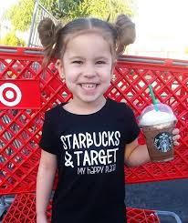 Starbucks And Target My Happy Place Newborn Toddler Tshirt