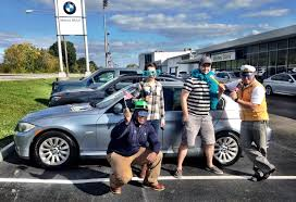 Congratulations Ryan And Sarah Trimble On Your New Bmw 3 Series We Hope It Will Rock Your World Thanks To Andrew Bmw Dealership Bmw Dealer New Bmw 3 Series