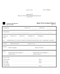 Property Damage Report Template Template Damage Report