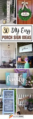 diy front porch decorating ideas. 30 easy diy front porch sign ideas for your home diy decorating