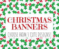 Printable Letter For Banners Free Merry Christmas Flag Letters Banners Cute Freebies