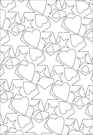 Small Picture Best Coloring Pages Hearts Stars Gallery New Printable Coloring