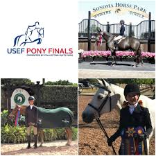 We'd like to wish good luck to our Road to Pony Finals Contest winners  Alexa Leong, Alexandra Willner and Avery Lambert, as well as all other … |  Pony, Horses, Usef