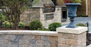 solid concrete block for garden enclosures for retaining walls for pillars
