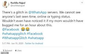 With photoadking's drag & drop interface and easy to use platform, you can make whatsapp status designs according to your requirements. Whatsapp Glitch Changes Means Nobody Can See Who Is Active Daily Mail Online