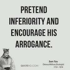 Sun Tzu's The Art Of War Pretend Inferiority And Encourage His Interesting Art Of War Quotes