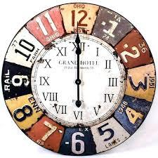 large antique wall clocks retro best vintage ideas on regarding clock uk