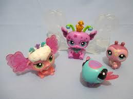 Littlest Pet Shop Light Up Dragonfly Littlest Pet Shop Lot Of 4 Christmas Light Up Pets Fairy Dragonfly Ladybug With Batteries