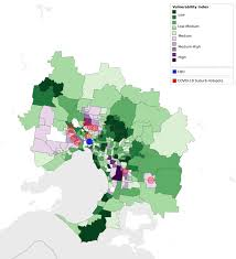 More than 22,500 test results were conducted in the past 24 hours in australia's second most populous city melbourne and authorities urged residents to get tested amid fears of community. Overcrowding And Affordability Stress Melbourne S Covid 19 Hotspots Are Also Housing Crisis Hotspots
