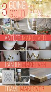 remodelaholic simple diy gold home decor accents