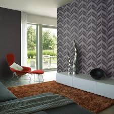 wallpapered office home design. There Wallpapered Office Home Design