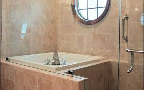 tub bench soaking doors small leaking combination height charming valve unit tubshower bathroom combo shower