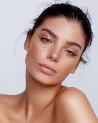 soft pink natural makeup