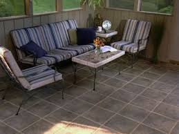 tiling a screened in porch