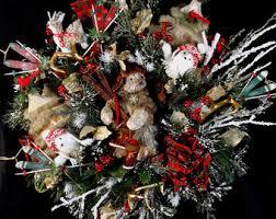cabin decor lodge sled: woodland christmas wreathski lodge decorationrustic christmas treecabin decorlodge decorski ornamentsluxury christmas wreathwreath
