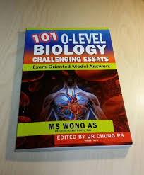 o level biology book o level bio tuition ms wong s 101 o level biology challenging essay book