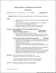 Sample Resume Format For Experienced Candidates Yun56co Resume